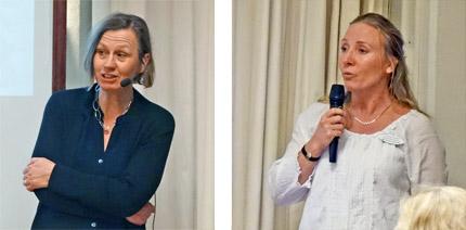 Sofia Ernestam och Susanne Karlfeldt
