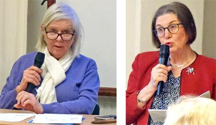 Annika Hässler och Maud Molander