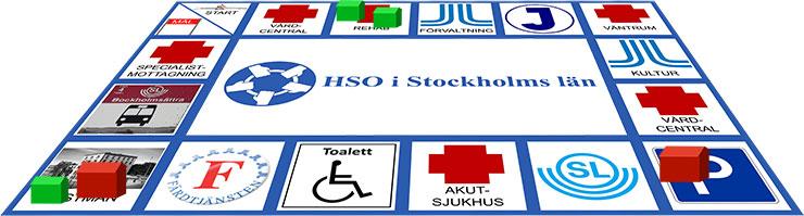 Monopolspel med HSO-ämnen