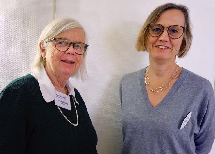 Annika Hässler och Sofia Ernestam