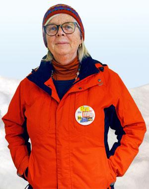 Annika Hässler i vintermundering