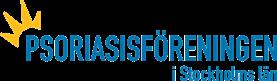 Psoriasisföreningen i Stockholms läns logga