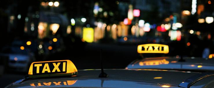 taxiskyltar