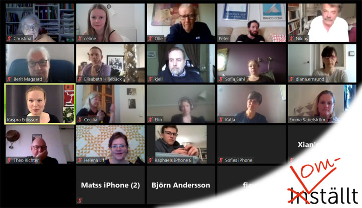 Videomöte med digital lösning