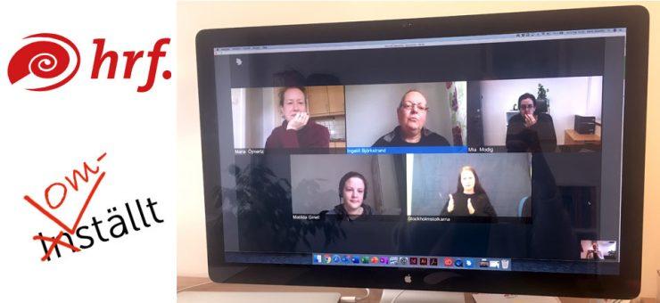 Videomöte med HRF