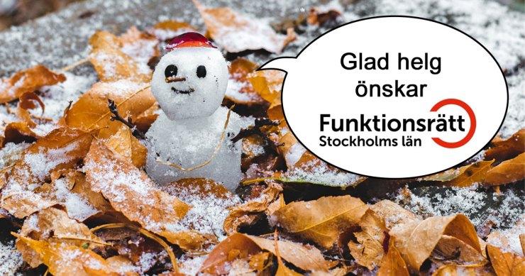 Glad helg önskar kansliet!