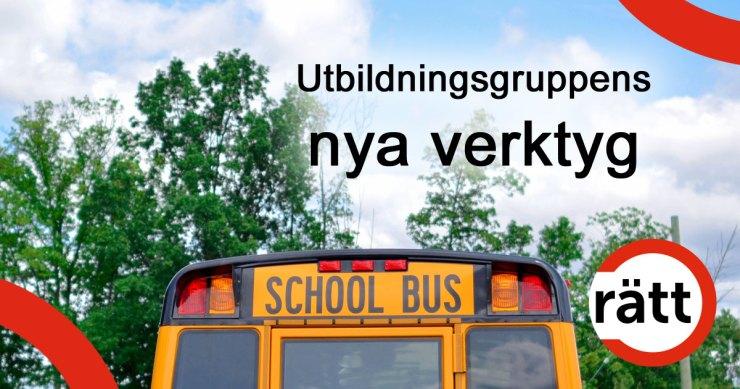 Utbildningsgruppens nya verktyg