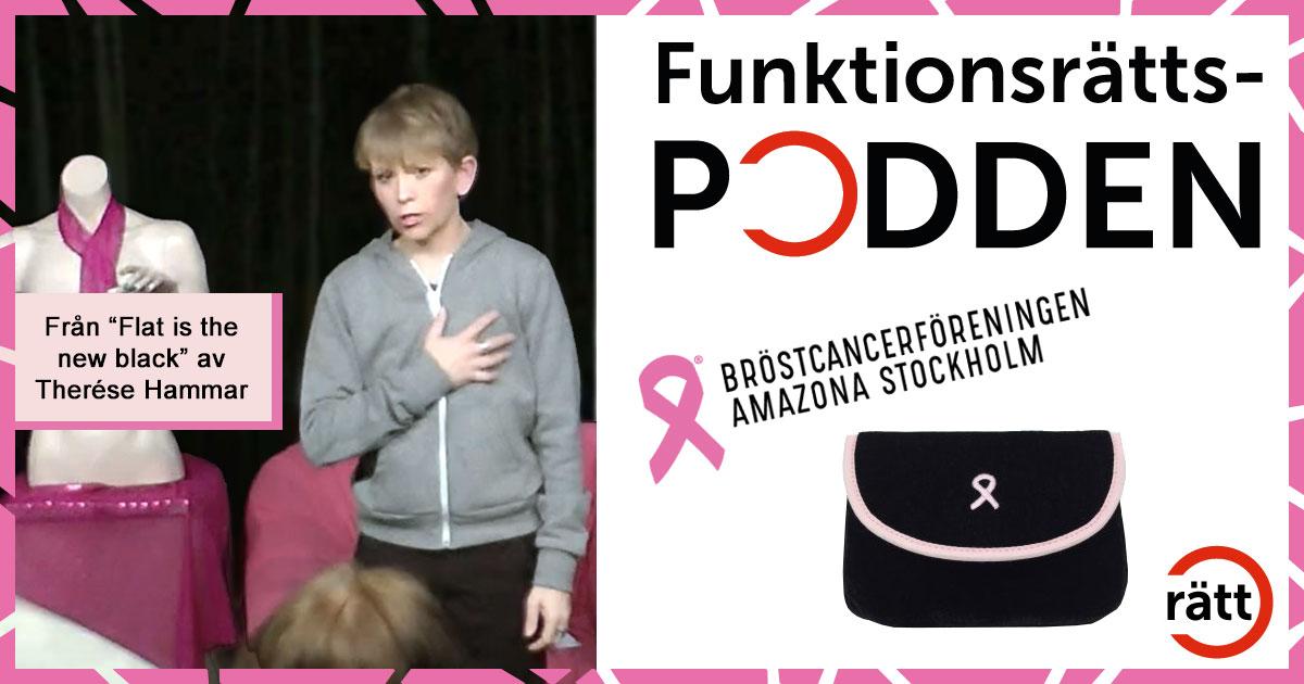 Ny podd med Bröstcancerföreningen Amazona!