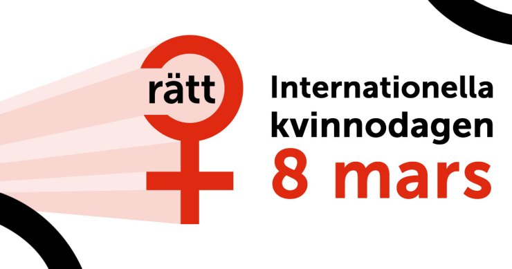 Internationella kvinnodagen 8 mars