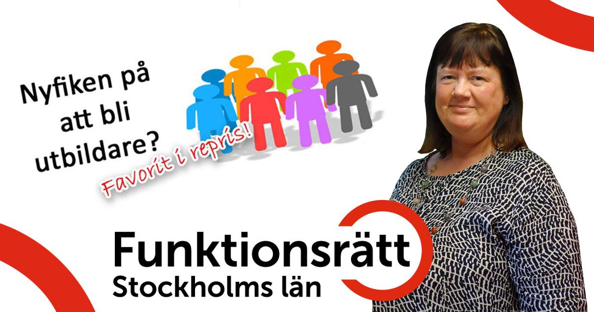Berit Hagström höll i mötet för utbildare.